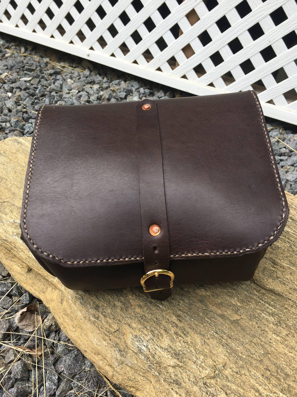 9a9ac82828e4 Full grain leather travel case dopp kit toiletry bag