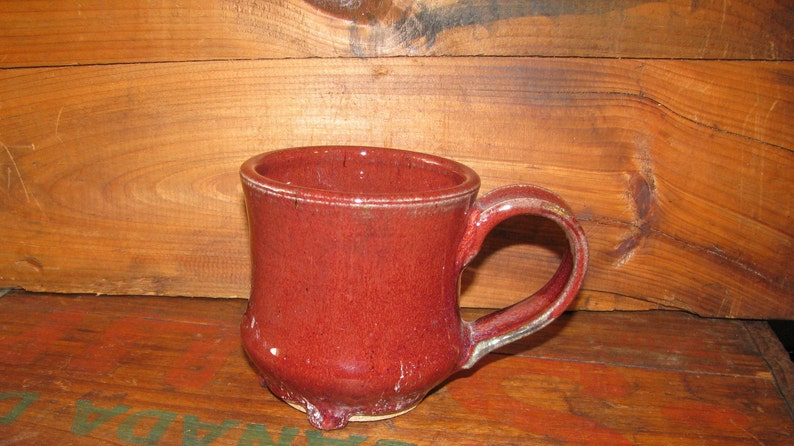 d584d274f1c Handmade Pottery Mug, Fancy Ceramic Mug, Stoneware Coffee Cup, Copper Red  Mug, Coffee Mug, Tea Cup, Handmade Christmas Gift, Rustic Mug