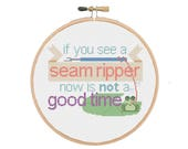 If You See a Seam Ripper ...