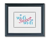 Wifi Sweet Wifi Cross Sti...