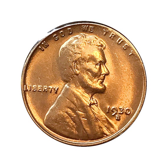 1931-P Lincoln Cent almost uncirculated