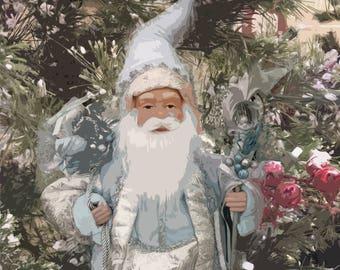 Wonderland Santa Gnome
