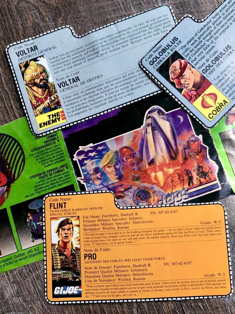 GI Joe Playset Bivouac Cot 1984 Original Part