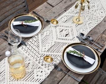 Large Macrame Table Runner / Modern Wall Art Hanging / Boho decor / Wedding Decor / Interior decor / Tapestry / Home Decor / Dinner Table