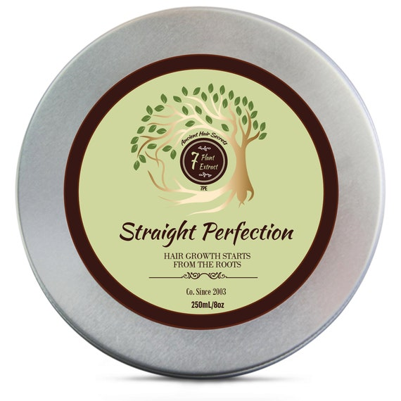 Straight Perfection - Keratin Treatment - Keratin Smoothing - Natural Hair Relaxer - Natural Hair Treatment - Organic Hair Treatment