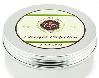 Straight Perfection - Keratin Treatment - Keratin Smoothing - Natural Hair Relaxer - Natural Hair Treatment - Organic Hair Treatment