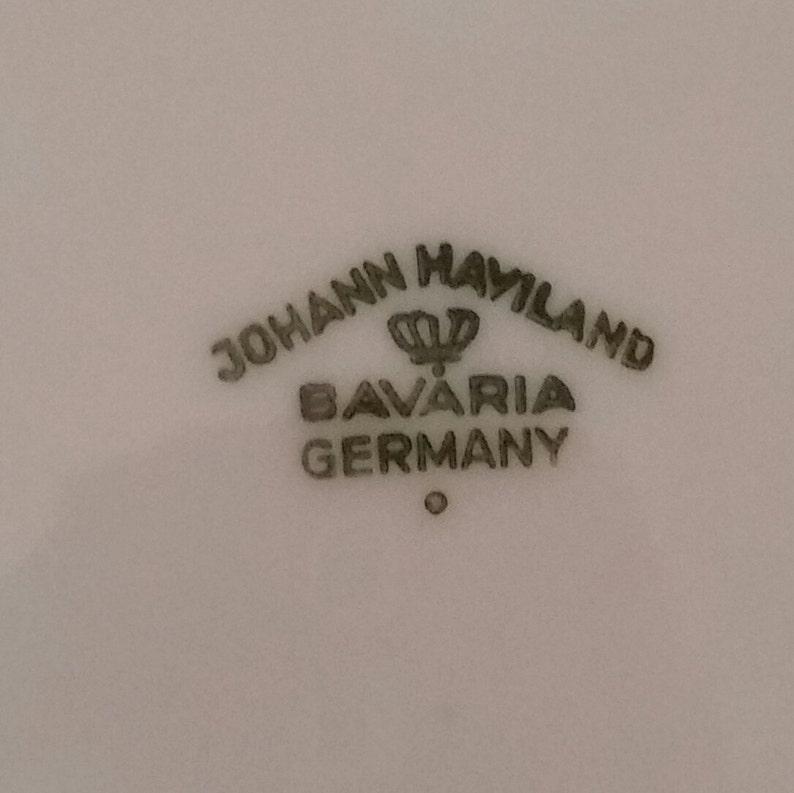 Johann Haviland Blue Garland Bread /& Butter PlateBlue GarlandHavilandJohann HavilandVintae PlateBread PlateVintage Wedding
