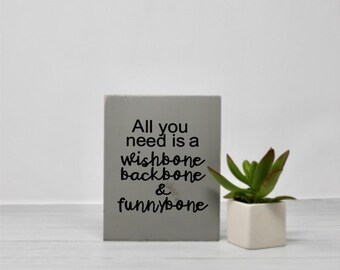 Mantra | Inspiration | Life quote | Sign with quotes | Wood wall art | Funny | Humor | Small sign | Office decor | Graduation gift