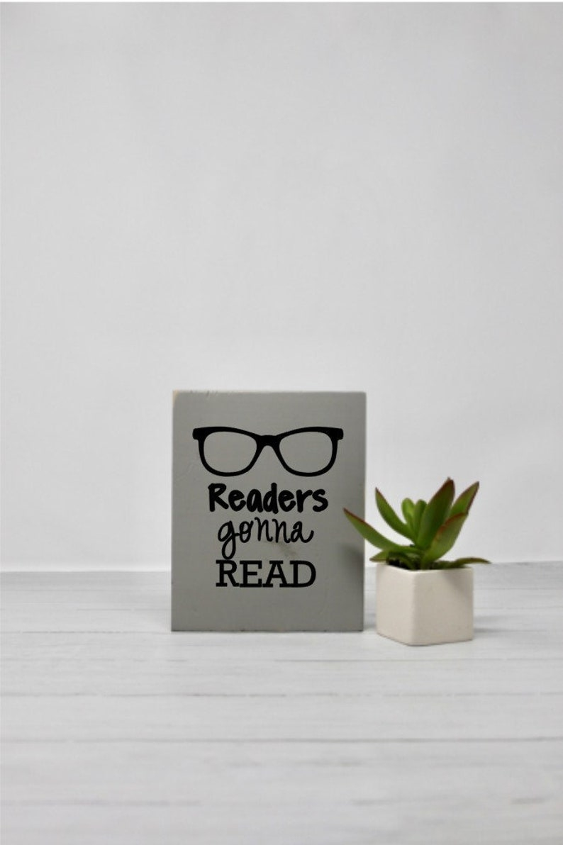efa567a52fa0 Book signs Reader quotes Small sign Signs with quotes