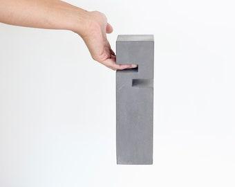 Heavy Concrete Door Stop With Handle - 5 to 7 lbs