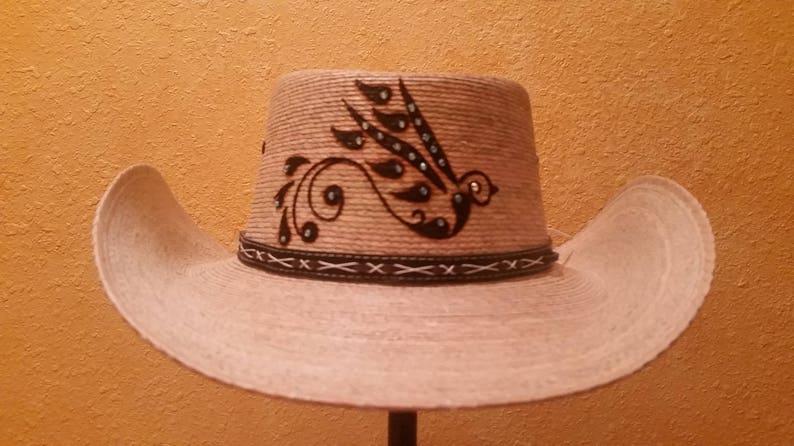 5d5aebd3e73 Cowboy Hat Bird Woodburn Western Rodeo Cowgirl Rustic