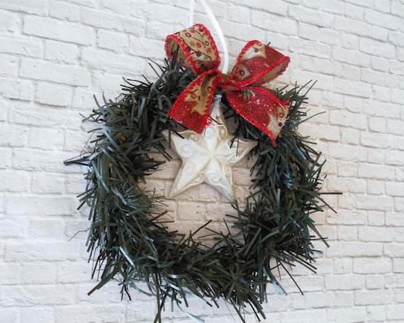 Small Christmas Wreaths.Small Christmas Wreaths Fireplace Decor Mini Wreaths Door Decor Christmas Home Decor Xmas Tree Star Ornament Gift For Mom