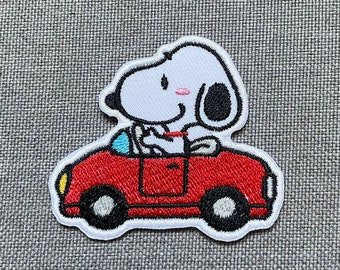 Snoopy Patches iron on patches snoopy iron on patch patches for Jackets embroidery patch Patch for backpack