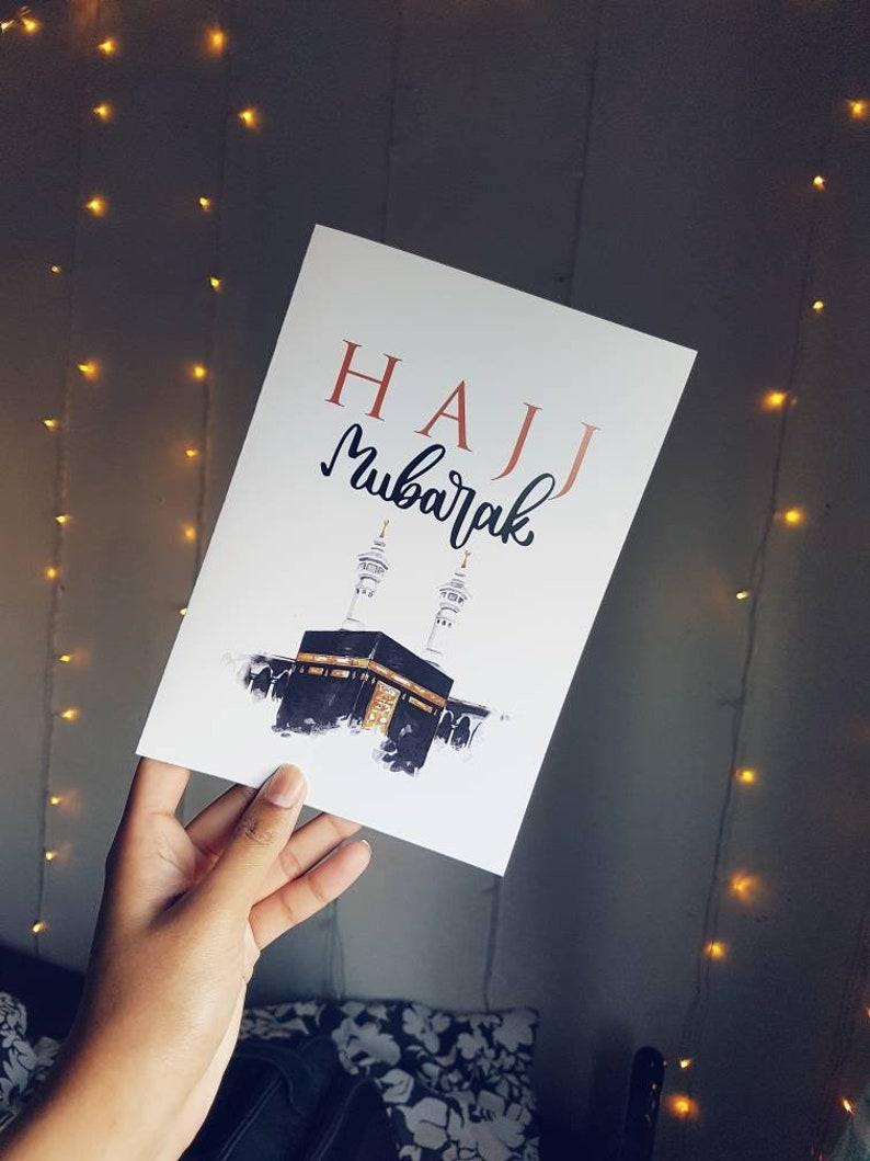 Hajj/Umrah Greeting Card with White Envelope!