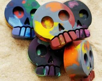 Skull Crayons / Set of 5