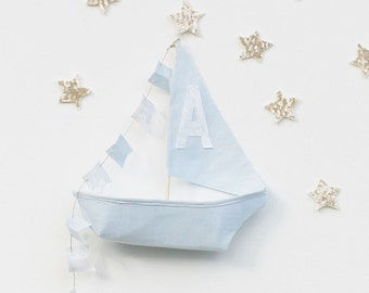 Baby Boy Nursery Sailboat Mobile Nursery Mobile Personalized Baby Gifts Baby Mobile Nusery Art Kids Room Decor Mobile Photo Prop