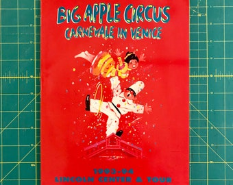 Big Apple Circus - Carnivale in Venice - 1993-94