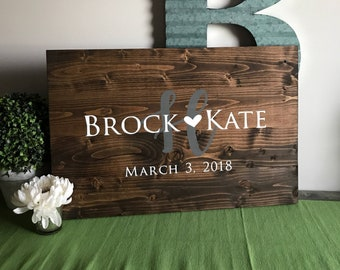 Alternative Guest Book | Wood Guest Book | Wedding Guest Book | Guest Book | Wedding Sign | Wood Welcome Sign | Gift for Couple