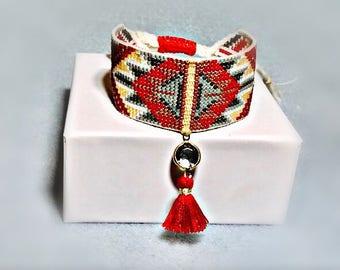 handmade Pearl beadwork bracelet jevelry jewellery handmade jewelry