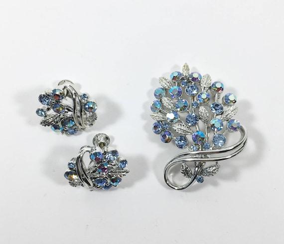Boho Earrings Boho Wedding Jewelry Something Blue Delicate chandelier 925 Aurora borealis Earrings