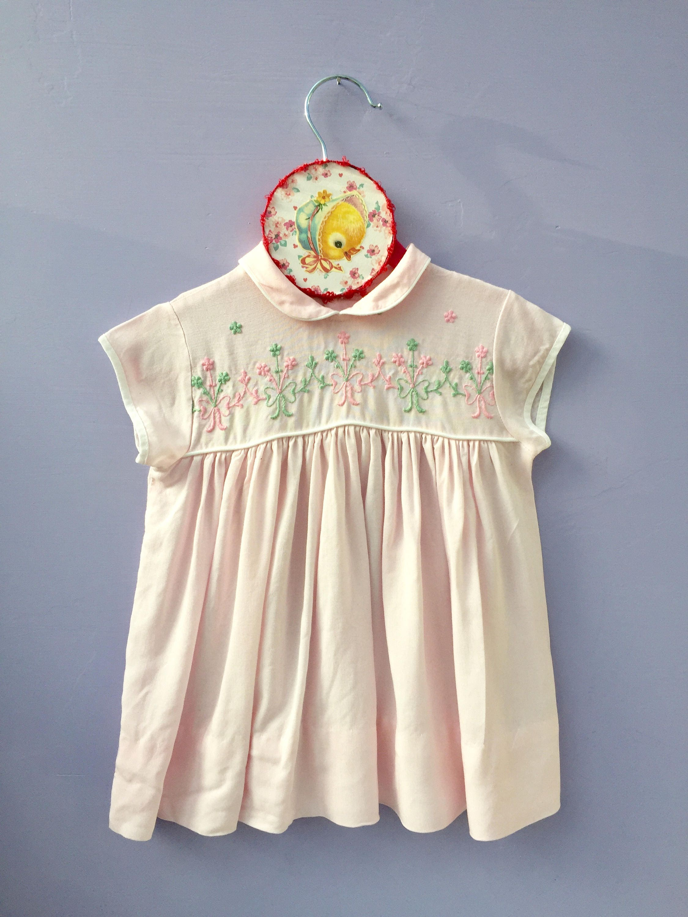 6c3bd45f1fc4 Vintage Little Girl Dress