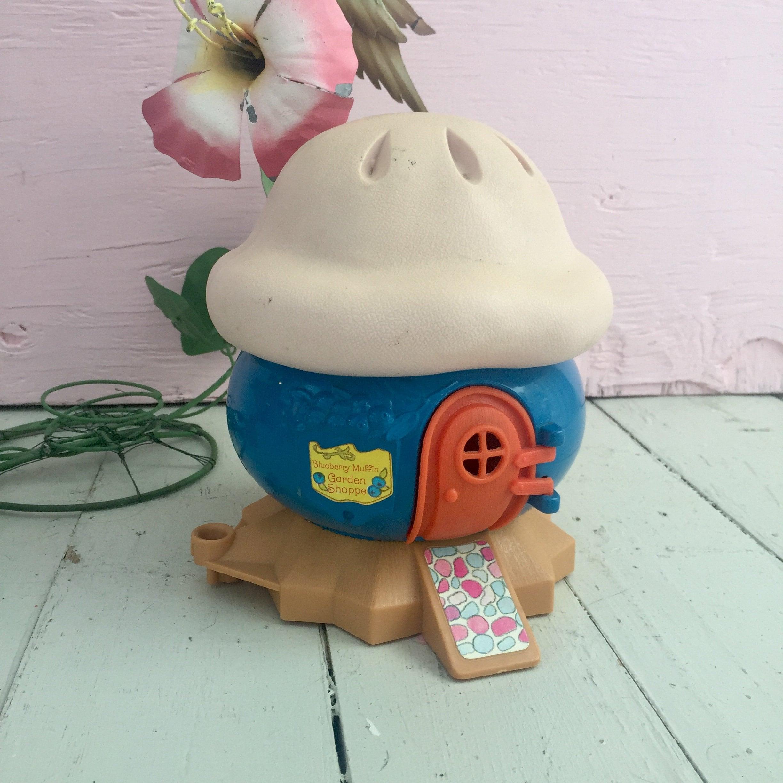 Vintage Blueberry Muffin Garden Shoppe Toy House Strawberry Shortcake Accessories