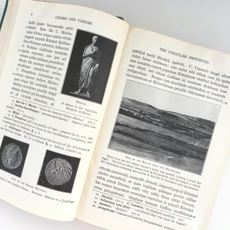 Vintage 1962 Third Year Latin Book, Kelsey\'s Cicero, Vintage Latin ...