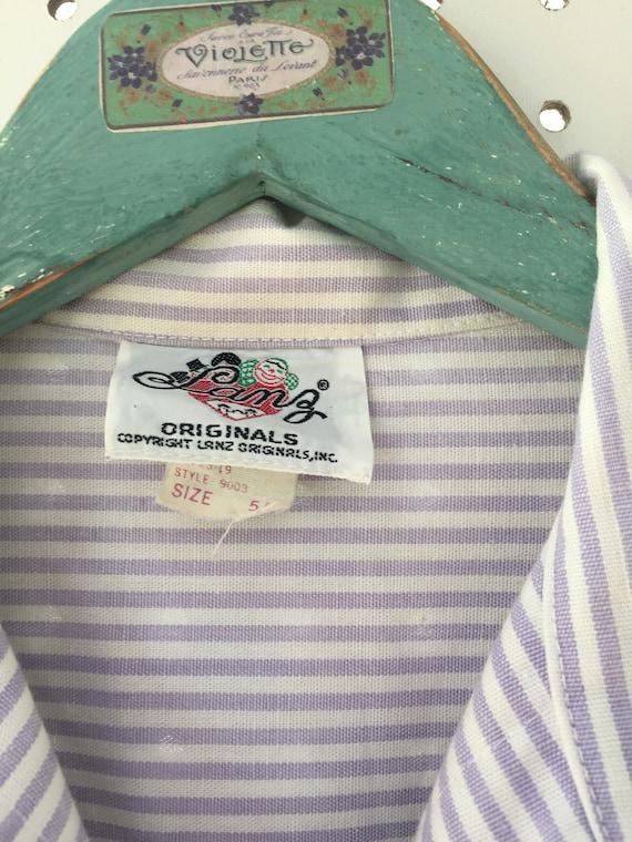 Vintage 1950s Lanz Originals Dress, Size XS, 1950… - image 8
