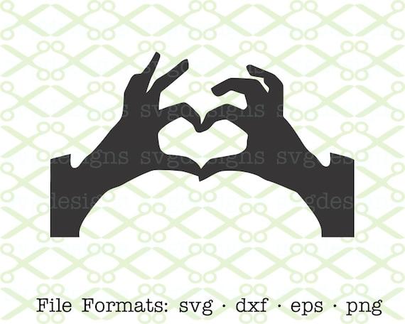 Heart Svg Dxf Eps Png Digital Cut Files For Cricut Etsy