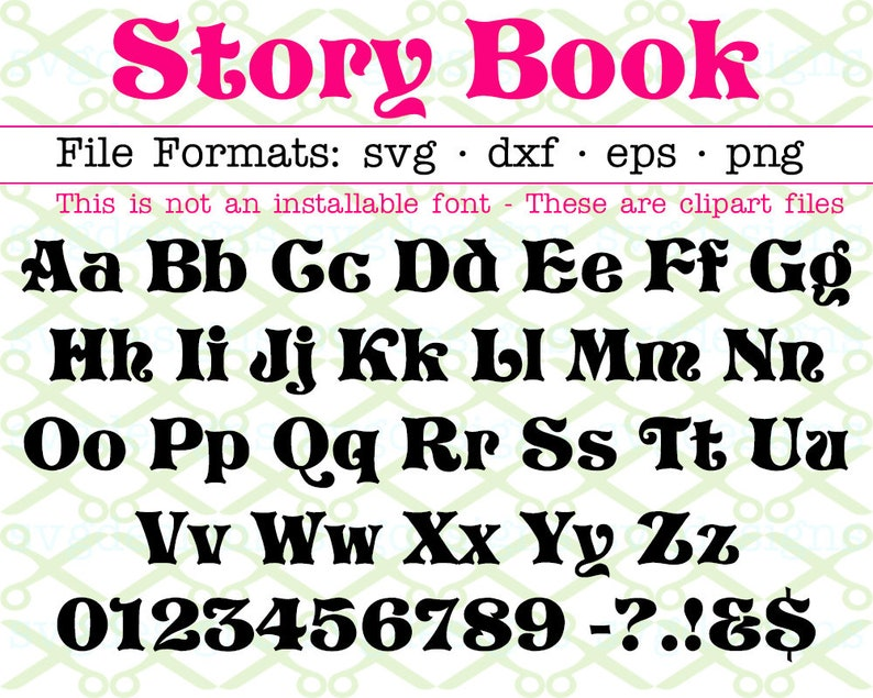 Story Book Text File