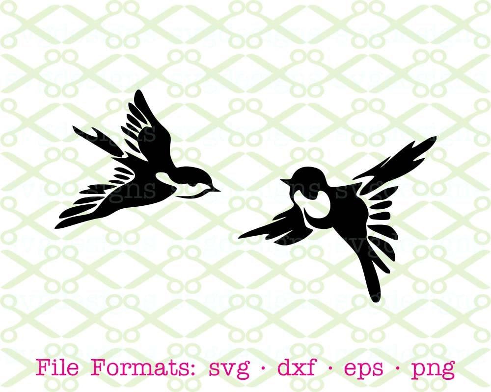 Bird Svg Dxf Eps Png Digital Cut Files For Cricut Etsy