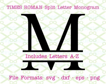 Wedding Monogram Ribbon SVG Bundle Full Alphabet A to Z SVG