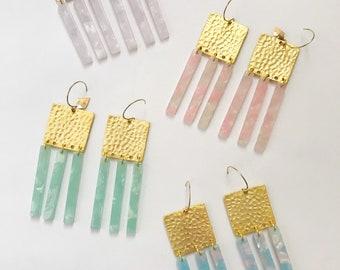 Acrylic Acetate Earrings