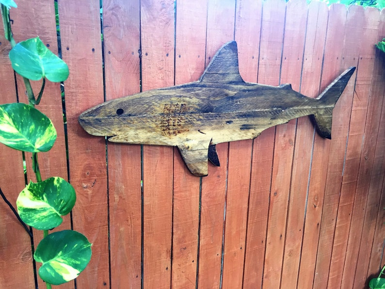 Shark, made from reclaimed pallets  42 inches long