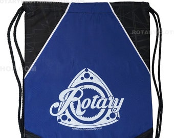 Rotary Deluxe Drawstring Bag with extra stotage- Heavy duty - Mazda Bag