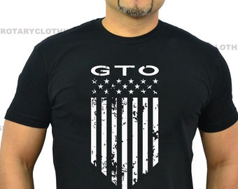Pontiac GTO Tshirt- American Muscle Collection