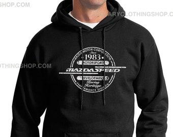 Mazdaspeed Sweater - Mazda sweatshirt -Men hoodie - Rx7 - 787B - Mazdaspeed3 - Miata - Mazdaspeed6 - Rotary Power