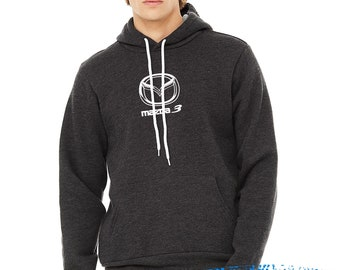 Mazda 3 Sweater - Mid weight hoodie - Mazda3 hoodie - sweater