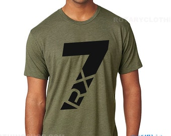 The 7 - Mazda RX7 - Rotary Engine Tri Blend T-shirt