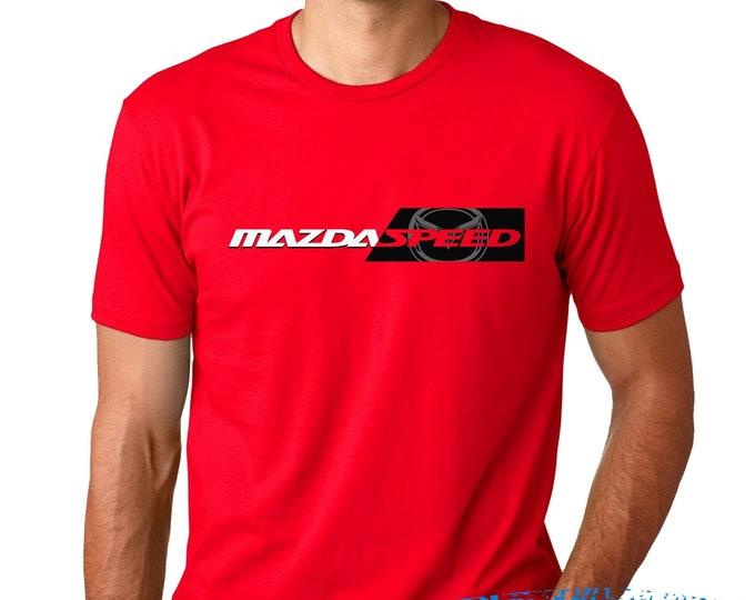 Featured listing image: Mazdaspeed Ultra- Mazdaspeed T-shirt- Enthusiast tshirt design - mazda 3 - miata -mazda 787b - rx7
