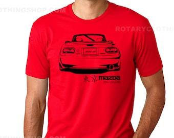 Mazda MX5 - Miata Jdm Legend - Miata Tshirt