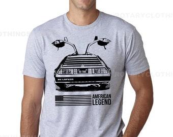 DeLorean No Time Tshirt - American Legend collection - DeLorean shirt - back to the future