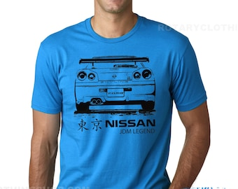 Nissan Skyline GTR  R34- Jdm Legend collection - Nismo Tshirt BNR34
