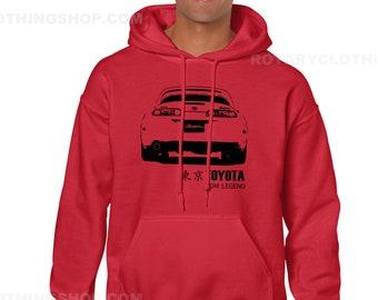 Toyota Supra Sweatshirt hoodie- JDM Legend collection - Supra Mk4 Sweatshirt