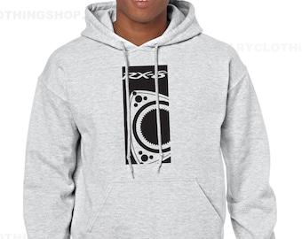 Mazda RX8 sweatshirt -Men hoodie -Rotary Engine - Wankel
