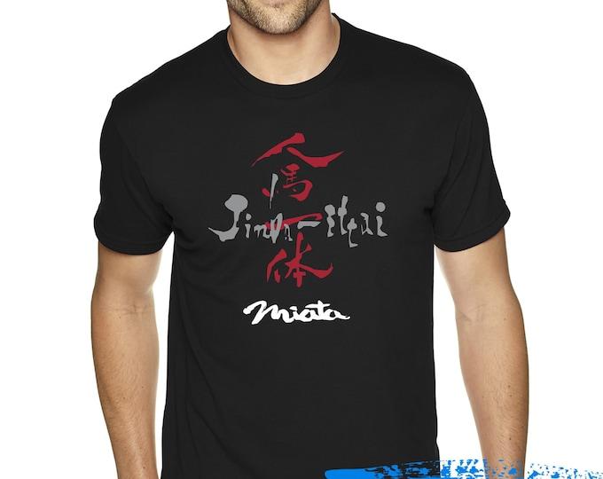 Featured listing image: Mazda MX5 Miata Jinba Ittai Tshirt- MX 5 Shirt - Jdm - Miata Enthusiast