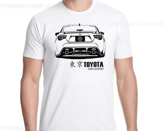 Toyota 86 T-shirt - Men Tshirt - Jdm Legend collection - Toyota shirt