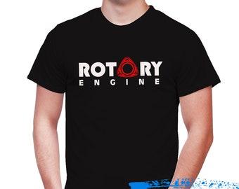 Rotary Engine T-shirt - Rotary Power vehicles- Rx7 tshirt - Rx8 - Mazda Repu - Rx3
