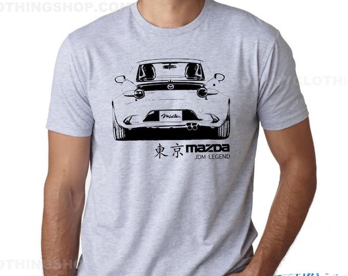 Featured listing image: Mazda MX5 - Miata 4th Gen Jdm Legend - Miata Tshirt -Mx5 ND