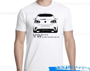 VW GTI sketch - Men Tshirt - Euro performance collection - vw shirt